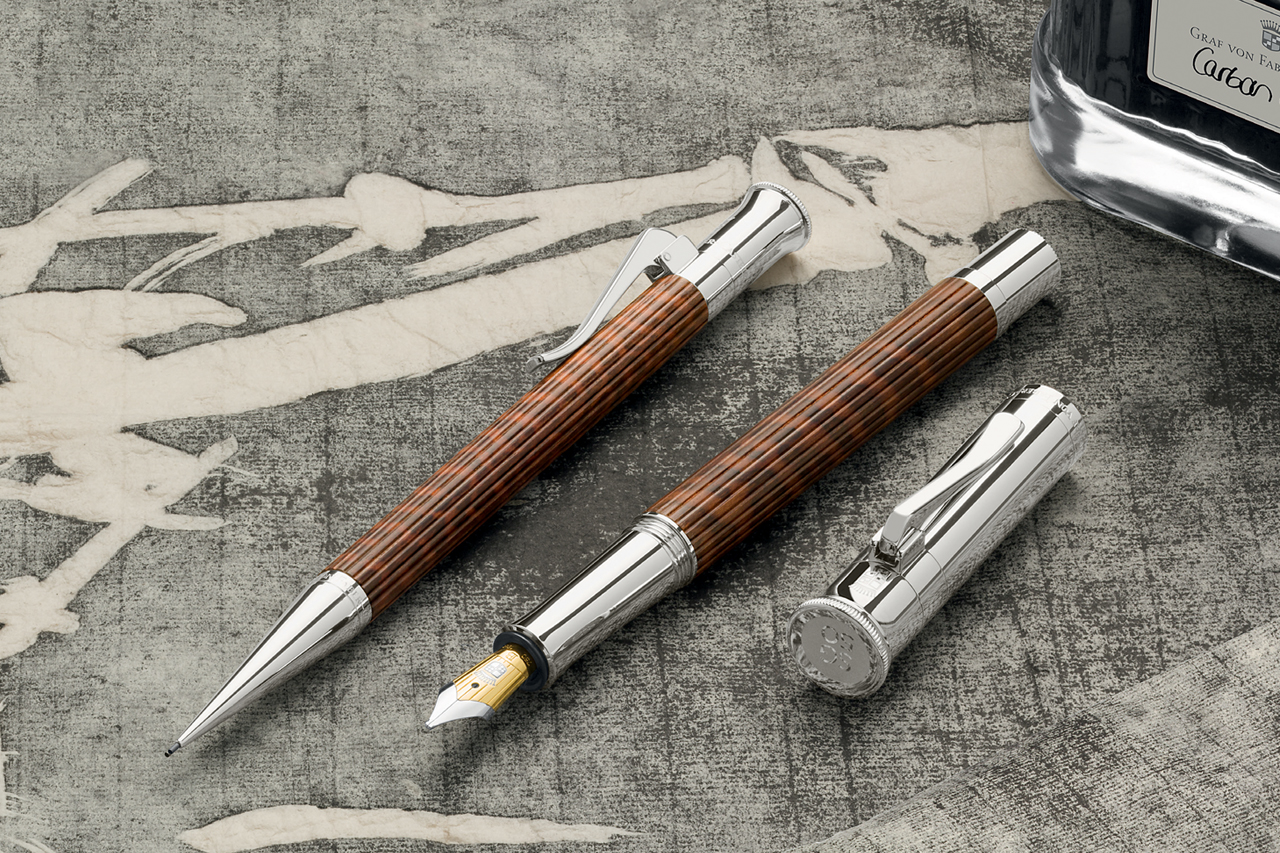 graf von faber castell to launch sg50 snakewood commemorative edition inky passion. Black Bedroom Furniture Sets. Home Design Ideas