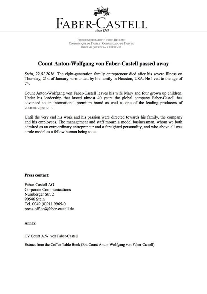 AWFC Press Release