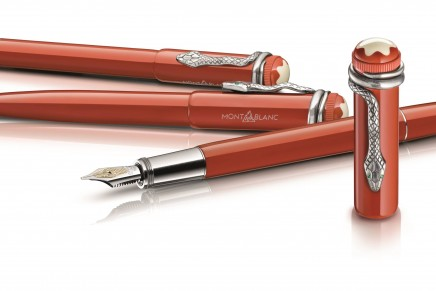 "Mont Blanc commemorates 110th Anniversary with ""Rouge et Noir"" reissue"