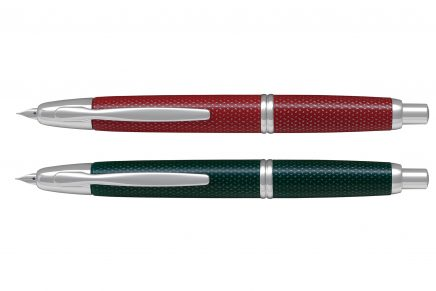 Pilot adds three colours to Capless collection